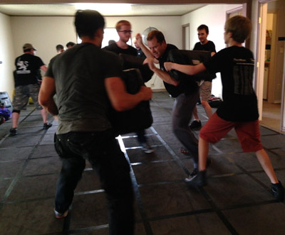 Try a group training class at Executive Self Defense in McKinney, TX